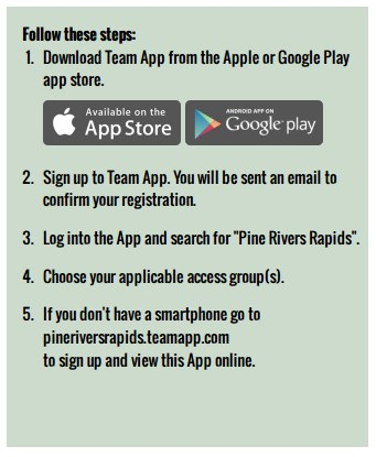 Team  App  Instructions